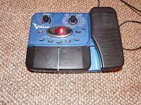 Behringer V amp effects pedal for guitar