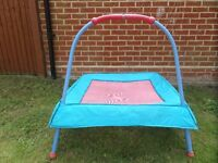 Early Learning Centre ELC Junior Trampoline for Indoor and Outdoor use.