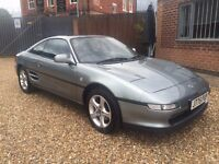 1992 Toyota MR2 Classic car in excellent condition Fantastic service history