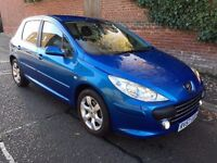 2007 PEUGEOT 307 S AUTOMATIC 5 DOOR HATCHBACK