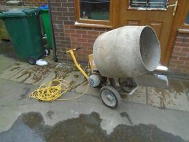 cement mixer 240 volts