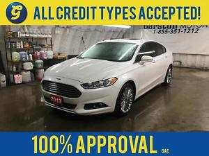 2013 Ford Fusion NAVIGATION*LEATHER*HEATED SEATS*POWER FRONT SEA