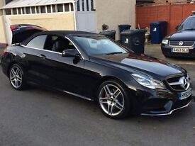 """Reduced!!! 2014, 63' plate Mercedes-Benz E250 CDI AMG Sport 7G, 2dr Black, Diesel,Leathers, 18"""" AMG"""