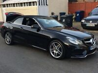 "Reduced!!! 2014, 63' plate Mercedes-Benz E250 CDI AMG Sport 7G, 2dr Black, Diesel,Leathers, 18"" AMG"