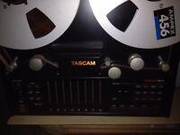 "Tascm TSR-8 1/2"" 8 track reel to reel"