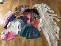18-24 months girl clothes bundle job lot