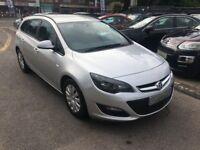 2013/13 Vauxhall Astra 1.7 CDTi ecoFLEX 16v Exclusiv (s/s) 5DOOR 1 KEEPER+£20 TAX+DIESEL ESTATE