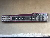 Guyatone 8 String Lap Steel / Lapsteel Slider Guitar (Half of a Twin Neck)