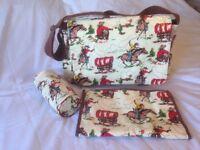 Cath Kidston cowboy changing bag