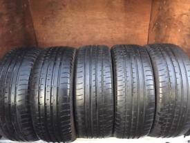 235 55 17 acciera iota Tyres continental Pirelli Michelin FREE MOBILE FITTING