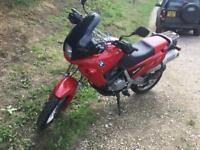 BMW f650 fundoro lovely gleaming red low mileage bike