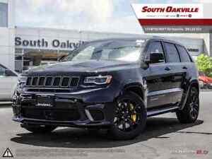 2018 Jeep Grand Cherokee Trackhawk   ALCANTARA VENTED LEATHER