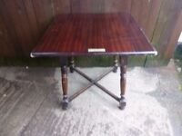 Square Pub Table with brass Tag Delivery Available £12