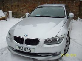 BMW 320i SE. AUTO COUPE. VERY LOW GENUINE MILEAGE. IMMACULATE.SAT NAV.