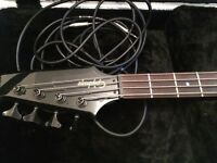 Bass Guitar Black Epiphone Thunderbird + Hard Case