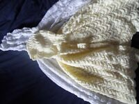 Hand knitted Baby Shawl Bundle