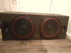 amp speaker watt 250