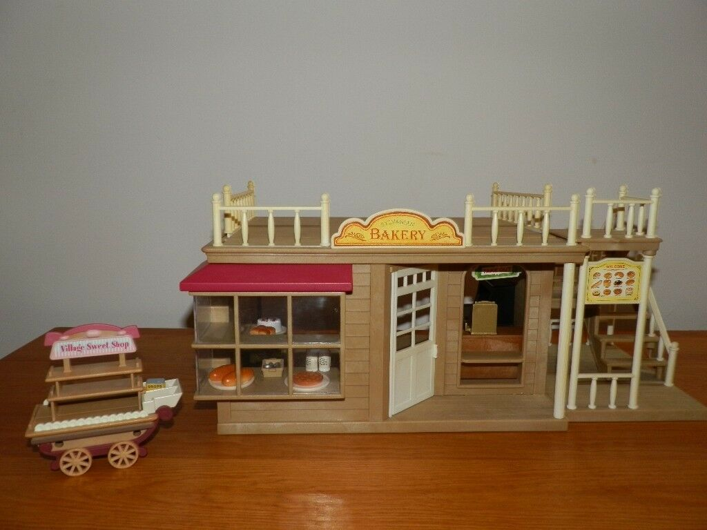 Sylvanian Family Bakery And Sweet Cart In Crowthorne Berkshire