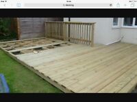 Decking and fencing/ no job to big or to small
