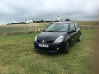 Renault Clio Dynamique 1.4 petrol - new MOT , serviced , cam belt and water pump changed