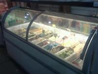 Boston 210 ice cream display freezer (commercial)