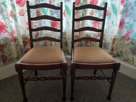 4x chairs in excellent condition
