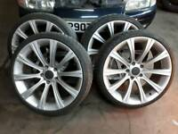 M5 alloys with descent tyres 19in