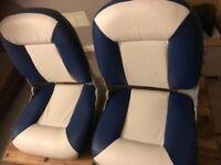 SPEED BOAT SEATS BRAND NEW BOXDD