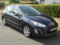 2012 Peugeot 308 Active 1.6 HDI Diesel 5 Door Hatchback £20 a Year Road Tax, 60 miles per Gallon