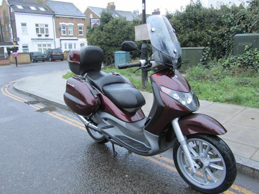 piaggio beverly 125 scooter in ealing london gumtree. Black Bedroom Furniture Sets. Home Design Ideas