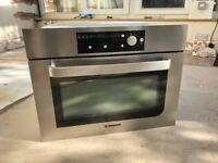 Hoover HMB350EX 35 L Built-in Combi Microwave - Stainless Steel BRAND NEW EX DISPLAY