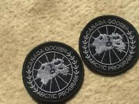 Canada goose badge x2 high quality
