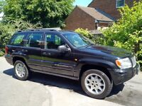 JEEP GRAND CHEROKEE 2.7CRD LIMITED. STARTECH LIMITED EDITION