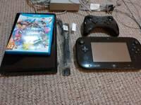 Wii U Console with Zelda, Smash + Controller