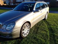 MERCEDES E320 CDI SPORT ESTATE SATNAV LEATHER INTERIOR GREAT CONDITION CHEAP PART EXCHANGE WELCOME