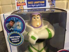 Toy Story 4 Buzz Light Year GoGrow 2 in 1 Nightlight & Torch
