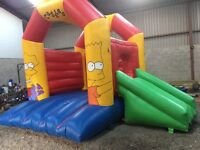 Simpson bouncy castle