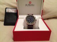 St moritz watch £60
