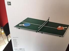 Bordtennis table tennis 5 years over excellent condition never used it