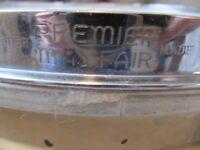 "1930's Premier Mayfair Brass Shell Snare Drum 14"" x 4"" shell"