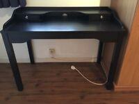 Little black desk