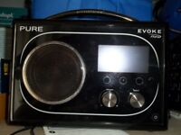 Pure Evoke Flow DAB / Internet Radio.
