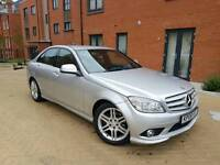 Mercedes C220 CDI SPORT AMG BODY KIT, AUTOMATIC GEARBOX, PADDLE SHIFTS