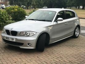 BMW 1 Series 2.0 118d Sport 5dr, Manual, 2005,Full service history,