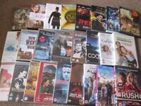 102 DVD's