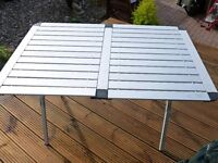 Aluminium Sturdy Folding Camping Table With Carry Bag