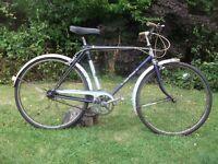 """Vintage BSA star rider mens 21"""" 3 speed town bike bicycle"""