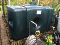 700 litre above ground rainwater store
