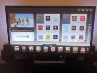 60 inch lg smart TV in perfect condtion