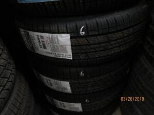 225/65R16 3 SETS OF 4 NEW MATCHING  KUMHO A/S TIRES